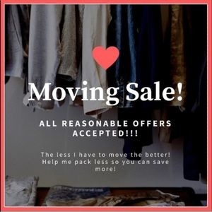 Moving Sale! Send Me An Offer On Any Item!